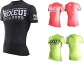 Boxeur des Rues Cross T-Shirt Stretch-Geel-M