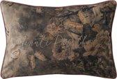 Rivièra Maison La Belle Époque Minute Papillon Pillow Cover - Sierkussenhoes - 65x45cm - Roze