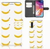 Samsung Galaxy A70 Book Cover Banana