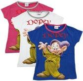 Disney Dopey t-shirt blauw maat 116 - 1 stuk