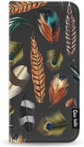 Casetastic Wallet Case Black Apple iPhone 7 / 8 - Feathers Multi