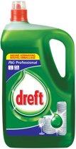 3x Dreft handafwasmiddel classic, flacon van 5 liter