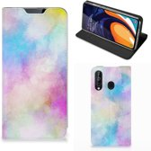 Bookcase Samsung Galaxy A60 Watercolor Light