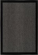 CleanWalk binnen/buiten karpet Box grijs 120 x 170 cm