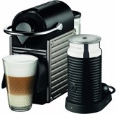 Nespresso Krups Pixie & Aeroccino 3 - Electric Titan