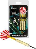 Abbey Darts Darts - Brass - Rood/Wit - 20