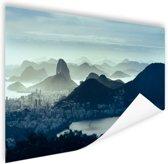 FotoCadeau.nl - Guanabara baai Rio de Janeiro Poster 60x40 cm - Foto print op Poster (wanddecoratie)