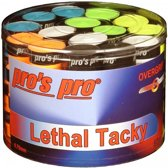 Pro's Pro Lethal Tacky 60 stuks overgrip multicolor