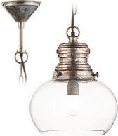 LOBERON Hanglamp Jule antiekzilverkleurig/helder