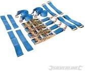 3-delige autotransport sjorbanden set voor stalen en lichtmetalen velgen