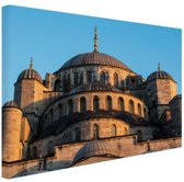 Moskee Midden-Oosten Canvas 60x40 cm - Foto print op Canvas schilderij (Wanddecoratie)