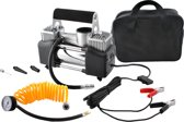 12V Mini Luchtcompressor - Auto Lucht Compressor Bandenpomp - 12 Volt Kompressor Met Manometer