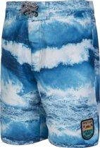 NORWELL JR Jongens Beachshort - Medium Blue - Maat 140