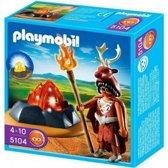 Playmobil Vuurwachter Met LED-verlichte Rots - 5104