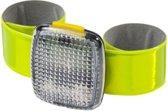 Bellatio- Reflectiearmband - LED - Flourgeel