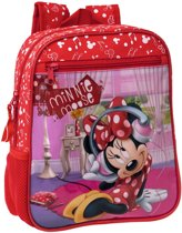 Disney Kinderrugzak Minnie Mouse Rood 23 X 28 X 10 Cm