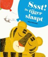 Boek cover Ssst! De tijger slaapt van Britta Teckentrup (Hardcover)