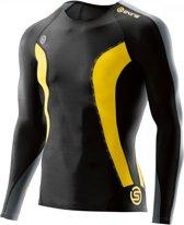 Skins DNAmic  hardloopshirt Heren zwart Maat XL
