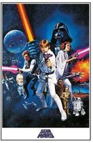 POSTER 16 STAR WARS - A NEW HOPE - ONE SHEET / PP33337