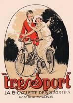 Carnet Lign� Affiche Tr�s Sport Bicyclette