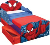 Peuterbed Spiderman - met lades