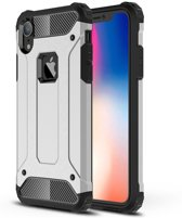 Apple iPhone XR Hoesje - Extreme Back Case - Zilver