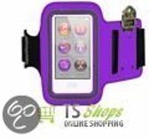 Apple iPod Nano 7 7th generation Sweatproof Sport Armband Paars Purple
