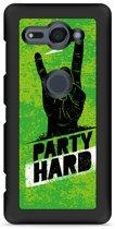 Xperia XZ2 Compact Hardcase Hoesje Party Hard 3.0