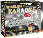 Karaoke Set Draadloos + Dvd