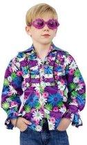 Disco blouse voor kinderen 140
