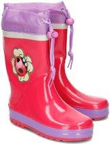 Playshoes Regenlaarzen Kinderen Lieveheersbeestje - Roze - Maat 24/25