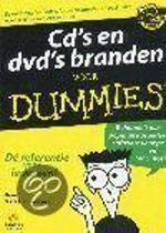 Cd's en dvd's branden voor Dummies
