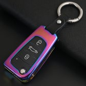 C stijl auto ronde gesp sleutel shell zinklegering autosleutel shell case sleutelhanger voor haval, willekeurige kleur levering