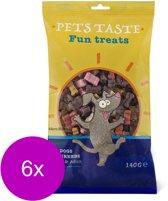 Pets Taste Micro Bones - Hondensnacks - 6 x Kip Rund Lam 120 g
