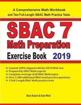 SBAC 7 Math Preparation Exercise Book
