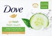 Dove Zeep - Go Fresh Touch Komkommer 2 x 100 gram