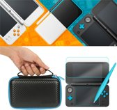 3-in-1 Screenprotector / Hard Cover Opberghoes / Opberg Tas Voor De Nintendo 2DS XL - Travel Carry Case