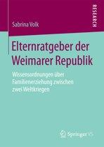 Elternratgeber der Weimarer Republik
