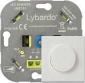 Lybardo ITEC 5-150W LED Dimmer - Fase Afsnijding - Universeel - inbouw- compleet met afdekraam