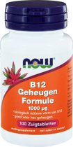 Now B-12 Geheugen Formule - 100 Tabletten -  Vitaminen