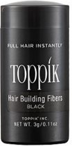 Toppik Hair Building Fibers Travel 3 gram - Zwart