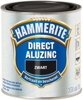 Hammerite Direct Over Aluzinc Zwart 750ML