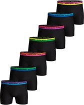 Bjorn Borg Onderbroek - Maat XXL  - Mannen - zwart/blauw/paars/groen/oranje/roze/geel 7-pack