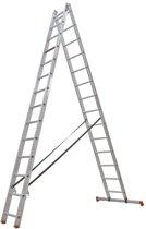 Altrex All Round Reformladder 2delig - 2x14 sporten - Werkhoogte 7m
