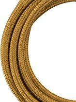 Textielsnoer Metallic Goud 3 meter