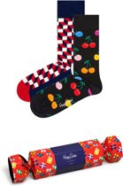 Happy Socks Holiday Crackerbox  - Maat 41-46