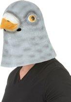Latex duivenmasker voor volwassenen - Verkleedmasker