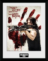 THE WALKING DEAD - Collector Print 30X40 - Bloody Hand Daryl