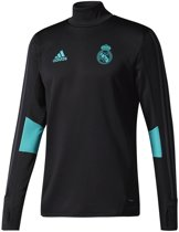 Adidas  Real Madrid 17/18 Trainingstop - Sweaters  - zwart - 2XL