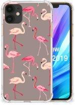 iPhone 11 Case Anti-shock Flamingo